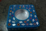 Beads- candle stand